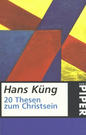 Zwanzig Thesen zum Christsein Book Cover